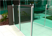 Semi Frameless Glass